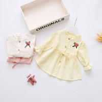 Wholesale Long Sleeve Owl Shirt - Kids Baby Girls Toddler Long Sleeve Shirt Dress Party Owl Tops Shirt Dress