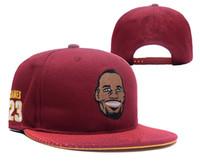 Wholesale Lebron Snapback - HOT selling, 2017 Adjustable LeBron James Snapback Hat many Snap Back Hat For Men Basketball Cap Cheap Cleveland hat men women Baseball Cap