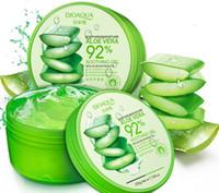 Wholesale Acne Gels - 220g BIOAQUA Natural Aloe Vera Smooth Gel Acne Treatment Face Cream for Hydrating Moist Repair After Sun