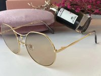 Wholesale Polygon Mirror - Luxury Women Brand Designer Sunglasses Popular Fashion Polygon Frame Sunglass Crystal Metarial Fashion Women Style Come With Package