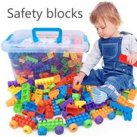 Wholesale Big size Building blocks Baby assemble toys Plastic diy educational toy Kids early study intelligence toys PT1009