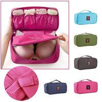 Wholesale Waterproof Women Girl Lady Portable Travel Bra Underwear Lingerie Organizer Bag Cosmetic Makeup Toiletry Wash Storage case