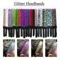 Wholesale accessories for girls stores online - Glitter Headbands for Teens Girls Women Softball Pack Volleyball Basketball Sports Teams Set Hair Accessories Store