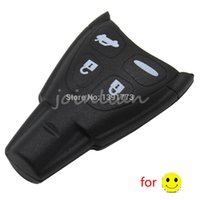 Wholesale Saab 93 Key - car New Blank Remote Key Shell Case with LOGO For SAAB 9-3 9-5 93 95 2009 4 Buttons DKT0187 free shipping