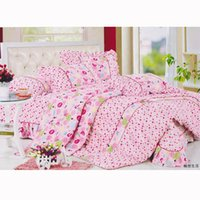 Wholesale King Bedding China - (4 Piece) Bedding Sets, manufacturer   supplier in China, offering Fashion Hotel  Home Cotton Bedding Set with Comforter Set.no6