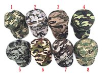 Wholesale Fall Safe - 8-color hot men and women safe fashion camouflage baseball cap sunglasses ladies men's uniforms cap hat M005