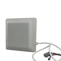 Wholesale Rfid Rs232 - Free Shipping long range UHF reader 5m support RS232-485 port 5 meters passive rfid reader ISM 900~928MHZ (FCC) or 865~868MHz (EU)