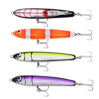 Wholesale Saltwater Trolling Lures Wholesale - Trolling Fishing Lure Popper Saltwater GT Lure Wood pencil Bait Mustad Hook 210mm 100g Topest Quality
