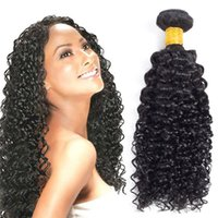 Wholesale Real Human Hair Bulk - 7A 3Bundles With Closure Brazilian Virgin Jerry Curl Hair Extensions Free Part Lace Closure Unprocessed 100 Real Human Hair Bulk For Weaving