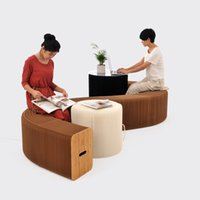 Wholesale Fashion Accordion Ideas Paper Furniture Accordion Sofa Paper Paper Retractable Folding Storage Furniture Save Space Seat Bearing Force T