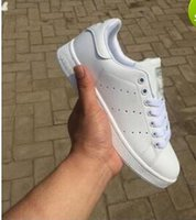 Wholesale 2017 superstar Hot Fashion Stan Shoes Smith Sneakers Casual Leather Men or Women Sport Shoes Running Shoes Sneakers Zapatos Mujer