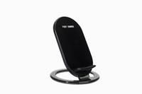 charger la lumière du téléphone achat en gros de-Support de support de chargeur rapide sans fil universel avec voyant lumineux Support de charge rapide 2-bobines 9V 1.5A pour téléphone portable IPHONE8 PLUS