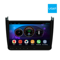 10,2 Zoll Volkswagen Polo 2012-15 Quad Core 1024 * 600 Android Auto GPS Navigation Multimedia Player Radio Wifi