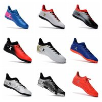 Wholesale Cheap Ankle Boots For Men - Hot New Football Boots Cheap Soccer Boots Mens Soccer Cleats For Men 2017 Soccer Shoes Low Ankle Football Shoes Outdoor Football Cleats