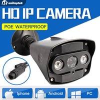 Wholesale Outdoor Night Vision Cctv - Sony 322 HD 2MP IP Camera 1080P Outdoor Vandal-Proof Security CCTV Camera IP Bullet ONVIF Waterproof IR 30M Night Vision XMEye