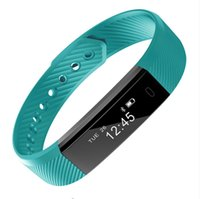 Wholesale Mambaman ID115 Smart Fitness Bracelet smart band Monitor Pedometer Wristband clock Fitness Tracker VS xiaomi band Fitbit