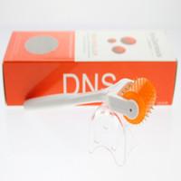 micro aguja rodillo dns al por mayor-DNS 200 biogénesis Micro Needle Derma Roller Terapia de DNS Derma Roller inoxidable
