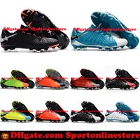 Wholesale Men Acc - Low Ankle Hypervenom Phantom III FG Soccer Cleats Neymar Boots Hypervenoms ACC High Quality Mens Football Boots New Cheap Soccer Shoes 2017