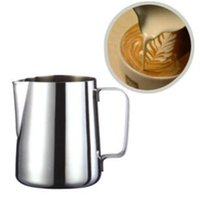 Acier inoxydable Pull Fleur Outil Mousse Garland Tasse tasse lait café Cappuccino Cuisson Outils expresso Frothers Latte