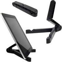 Wholesale 360 Degree Rotating Folding Universal Tablet PC Stand Holder Folding Design Hard PC Lazy Support For iphone iPad Mini