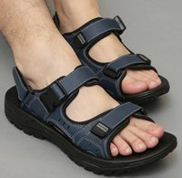 Wholesale Summer Fashions Wedges - Hot 2017 New Men Sandals Summer Beach Shoes Comfortable Rubber Sandals Mens With EUR 38 - 46