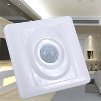 Wholesale pir infrared module resale online - Home LED light PIR Infrared Motion Sensor Switch Human Body Induction Save Energy Motion Automatic Module Light Sensing Switch