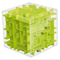 Wholesale g1 toy resale online - Transparent D Mini Speed Cube Maze Magic Ball Elderly Puzzle Intelligence Children Early Childhood Education Puzzle Toys qy G1