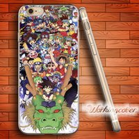 Wholesale Anime Iphone 5c Case - Coque Cartoon Anime Soft Clear TPU Case for iPhone 6 6S 7 Plus 5S SE 5 5C 4S 4 Case Silicone Cover.
