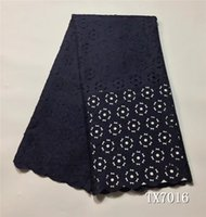 Wholesale Fashion Laser Cutting Jacquard Fabric African Lace Fabric For Party Origin Material