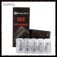 bobinas subox venda por atacado-kanger vertical oc coils subtanque Bobina OCC atualizada 0.5 / 1.2 ohm fit Kit Kangertech subox Mini Nano 1 2 0266021 -3
