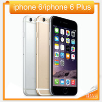 "Wholesale Original Mobiles - Free DHL shipping Unlocked Original Apple iPhone 6 iphone 6 Plus Mobile phone 4.7"" 5.5'' 1GB RAM 16GB 64GB 128GB ROM IOS Cellphone"