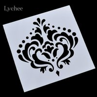 Wholesale Crown Spray Paint - Wholesale- Imperial Crown Design Scrapbooking Tool Card DIY Album Masking Spray Painted Template Drawing Stencils Laser Cut Templates