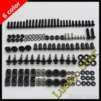 Wholesale 1991 kawasaki zx 11 fairings for sale - Group buy 100 For KAWASAKI NINJA ZX11C ZX C ZX C ZX11 Body Fairing Bolt Screw Fastener Fixation Kit