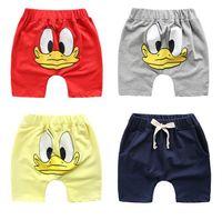 Wholesale High Waist Pants For Babies - Baby Boys Summer Shorts Kids Cotton Short Pants Elastic Waist Short Pants High Quality for 1~6 Year