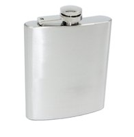 Wholesale 7oz Stainless Steel Flask Pocket Hip Flasks Liquor Alcohol wine Whisky Pocket Bottle Flagons Drinkware Travel Hiking Camping Tool
