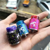 Wholesale Candy Resins - Cotton Candy Goon V1.5 RDA 24mm E-Cigarettes Vape E Cig Atomizers Newest 510 Thread High Quality Hot Resin Goon V1.5 Wholesale