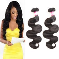 Wholesale Brazilian Virgin 26 - Hot 8-26 Brazilian Virgin Hair Body Wave 3 Bundles Unprocessed Virgin Body Wave Bundles No Shedding