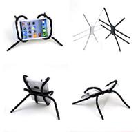porta-aranha para iphone venda por atacado-Atacado-universal spider car suporte do telefone móvel para iphone 6 plus stent para samsung s6 edge s5 suporte do suporte do suporte do suporte auto celular