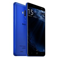 Wholesale Gift Scanner - Bluboo D1 3G Smartphone 5.0 inch blue Android 7.0 MTK6580A Quad Core 1.5GHz 2GB RAM 16GB ROM Fingerprint Scanner Dual Rear Cameras for gift
