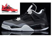 Wholesale High Top Shoes Cheap Prices - Mens basketball shoes Retro IV 4s Oreo outdoor women high quality cheap prices 4 sneaker low top size 36-47