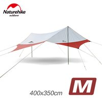 Naturehike Outdoor Awnig Beach Große Camping Zelte Shelter Die Sonne Wasserdicht Ultralight Fast Build 400 * 350CM NH16T012-S