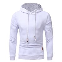 Wholesale Quality Winter Coats Men - 2017 Mens Winter Hoodies Casual Sweatshirt Hooded Black White Coat Sweats Pullover Jumper Jacket Fashion Gyms Clothing High Quality M-3XL