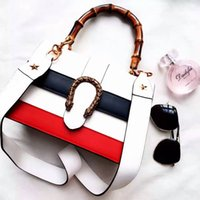 Wholesale Envelope Small Bag - Luxury brand designer fashion high-grade leather handbags hardware women contracted color patchwork bag