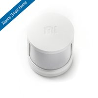 Wholesale Smart Alarm Home Security - Wholesale-Free Shipping 100% New Arrivel Original Xiaomi Infrared Smart Home Security Body Motion Sensor Alarm Via Smartphone 1pcs lot