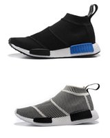 NMD_CS1 PK Runner City Sock Nmd CS 1 Hommes Femmes Chaussures de course Fashion City Sock Cs1 Primeknit Chaussures de sport gris boost eur 36-44