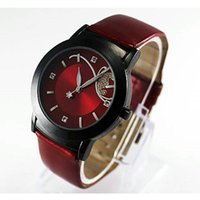 Wholesale Digital Watch Promotional - watch Lady Casual Retro Luxury Diamond Rhinestone Crystal Pretty Quartz Women Wrist Watch Promotional Gift