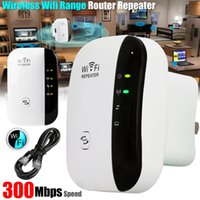 Wireless-N Wifi Repetidor 802.11n / b / g Rede Wi-Fi Roteadores 300Mbps Extensão Expansor Signal Booster Extender WIFI Ap Apagamento Wps