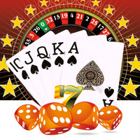 Wholesale Adult Poker - Adult Games Poker Waterproof Pokers Gold Edge Baccarat Texas Holdem Playing Cards Collection Gift q170687
