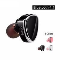 Wholesale E7 Mobile Phone - New E7 hifi Headphones Bluetooth Headphone Handsfree Mini Wireless Earphone Sport Music Bluetooth V4.1 Headphone With Mic For Mobile Phone