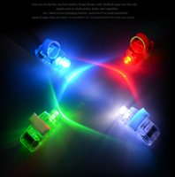 Wholesale dazzling laser beams - THE NEWEST Dazzling Laser Fingers Beams Party Flash Toys LED Lights Toys 1000 pcs lot